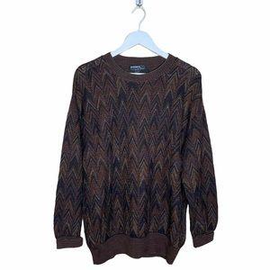 Mondo di Marco Vintage Italian Knit Sweater Brown